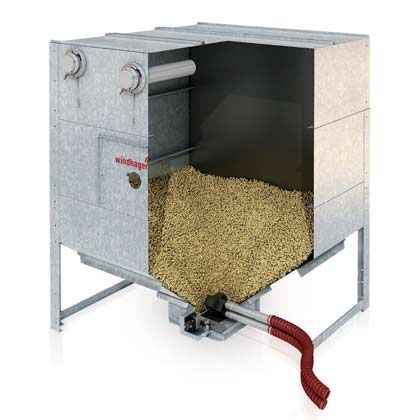 Wood Pellet Hoppers