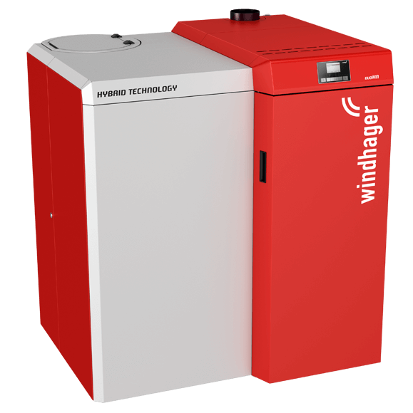 DuoWIN - Combined Wood Pellet and Log Biomass Boiler