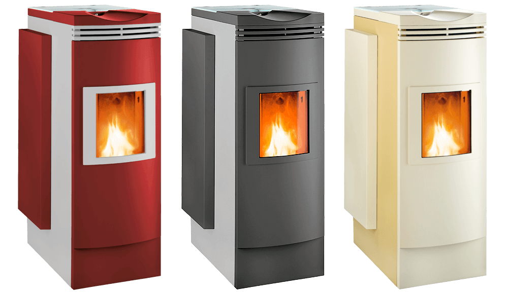 FireWIN - Stylish Biomass Wood Pellet Heating Boiler