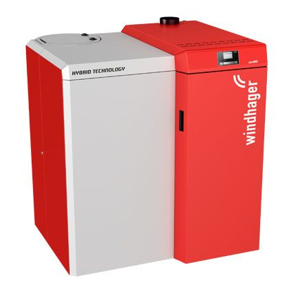 Wood Pellet and Log Hybrid Boilers
